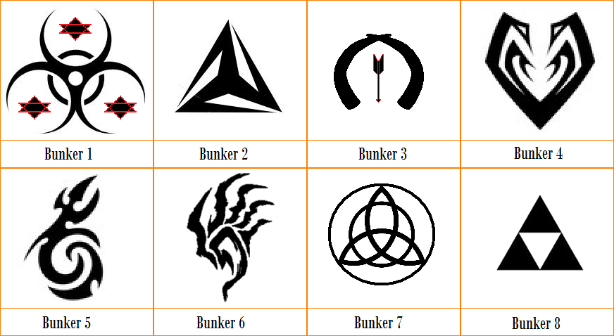The Secret Army - Bunker Symbols by entiegon on DeviantArt
