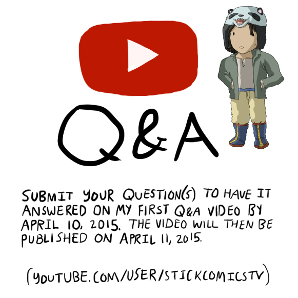 SUBMIT QUESTIONS FOR YOUTUBE Q and A! by graphicspark on