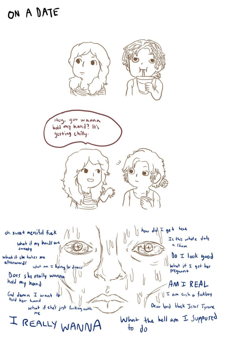 Tumblr comic 1 Part 1 by graphicspark