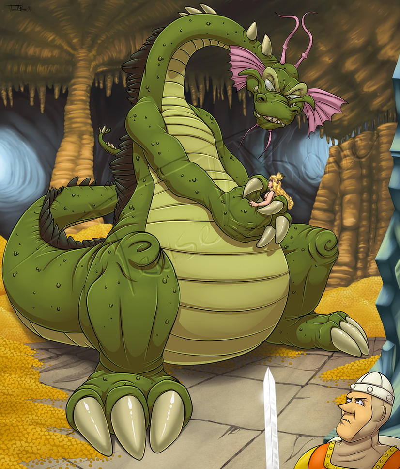 Dragon 39 s lair by teaselbone on deviantart for Dragon s lair