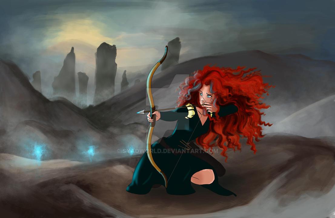 Merida Fanart (Brave) by SyadWorld