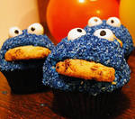 Fundraising: Cookie Monster Cupcakes