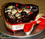 Chocolate Truffle Cake Box