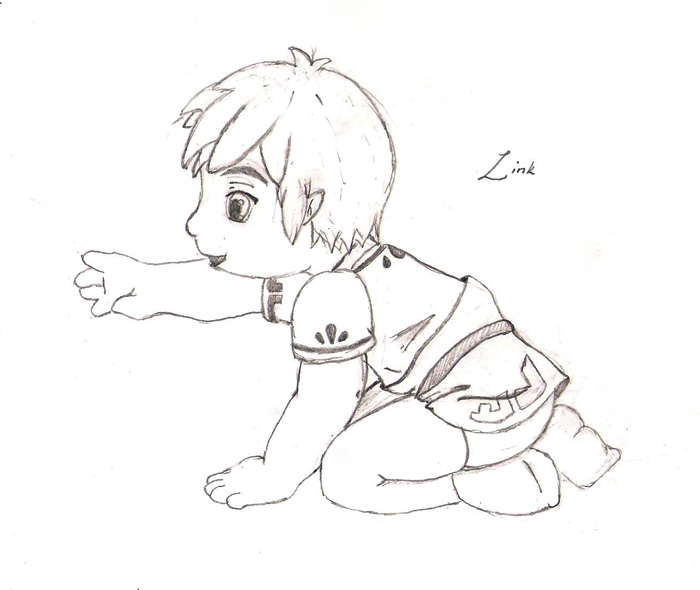 Toddler Link WIP by cakecrumbs