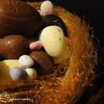 Easter Nest Mud Cake
