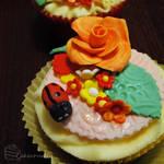 Cherry Ladybird Cupcakes