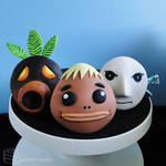 Majora's Mask: Mask Cupcake Set [Masks #1-3]