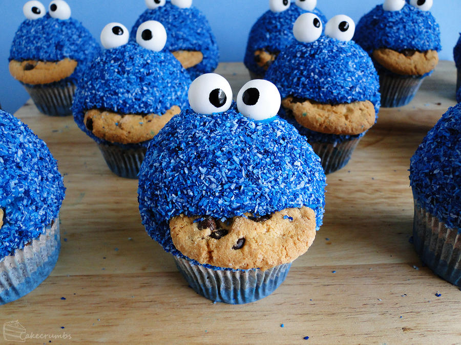 How To Make A D Cookie Monster Cake