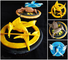 The Hunger Games: Mockingjay Cupcakes