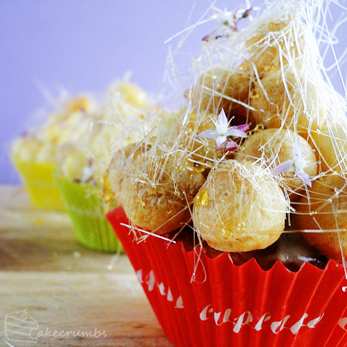 Croquembouche Cupcakes by cakecrumbs