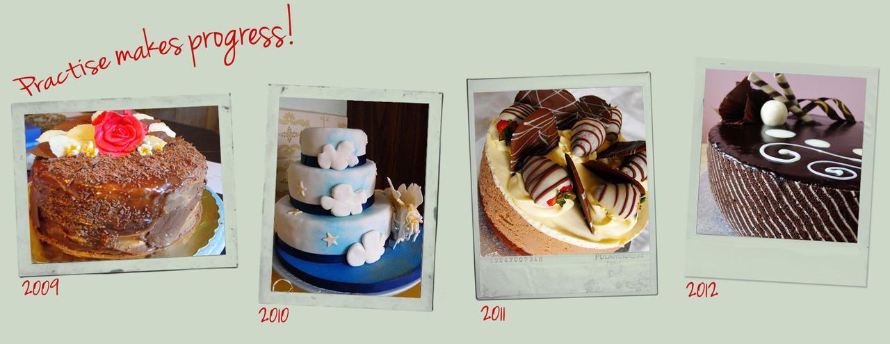 Practise Makes Progress II by cakecrumbs