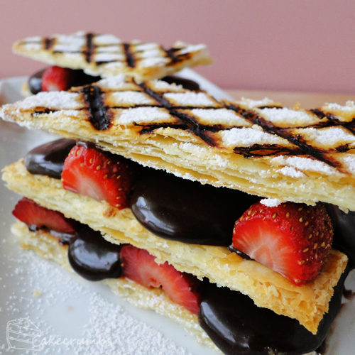 Daring Bakers: Mille-feuille by cakecrumbs