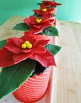 12 Days of Christmas :: 4 Poinsettia Jocondes
