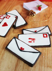 Love Letter Cookies by cakecrumbs