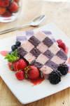 Checkered Berry Parfait