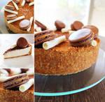 Honey and Cinnamon Cheesecake