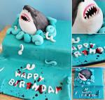 Commission: Shark Cake