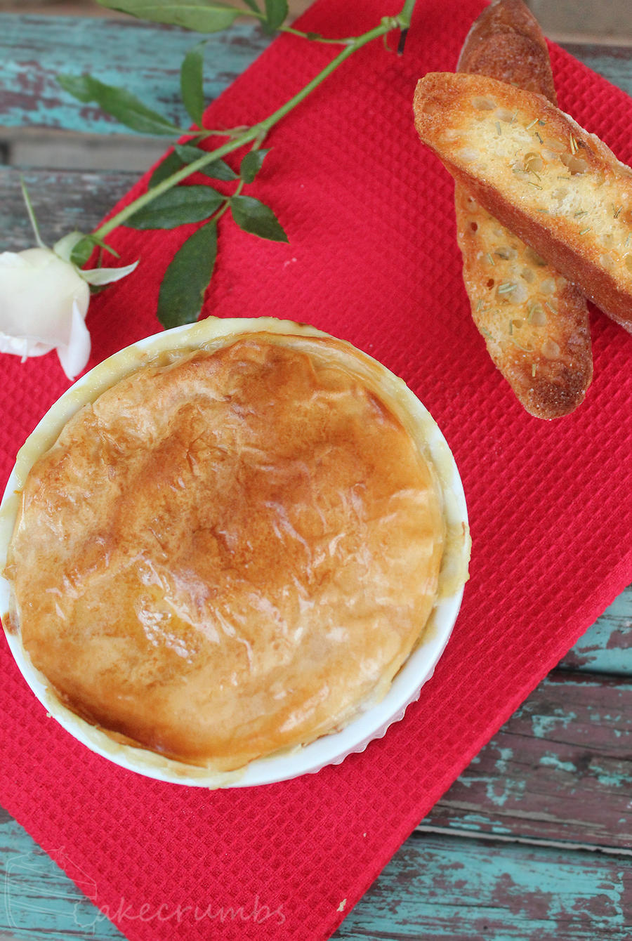Chicken and Leek Pot Pies by cakecrumbs