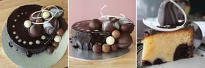 Chocolate Bubble Cake