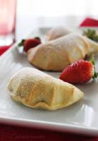 Strawberry and Nutella Mini-Calzones