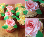 Spicy Rose Cupcakes