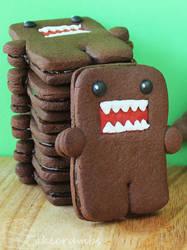 Domo Cookies by cakecrumbs