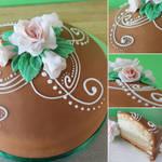 Daring Bakers: Swedish Princesstarta by cakecrumbs