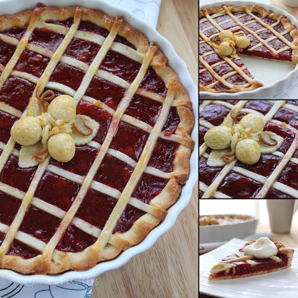 Daring Bakers: Crostata di Marmellata by cakecrumbs