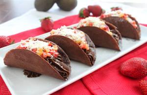 Chocolate Tacos