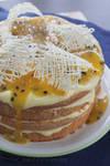 Lemon and Passionfruit Sponge