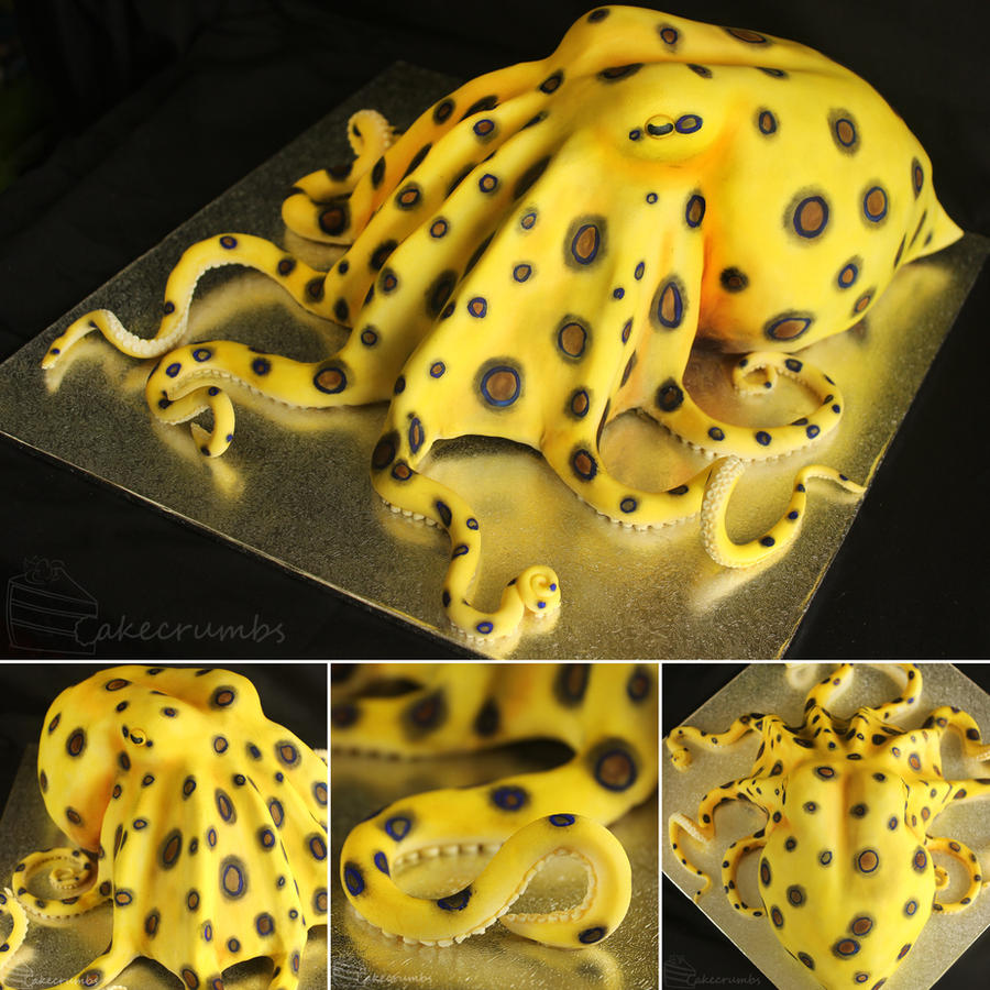 Blue-ringed Octopus Cake