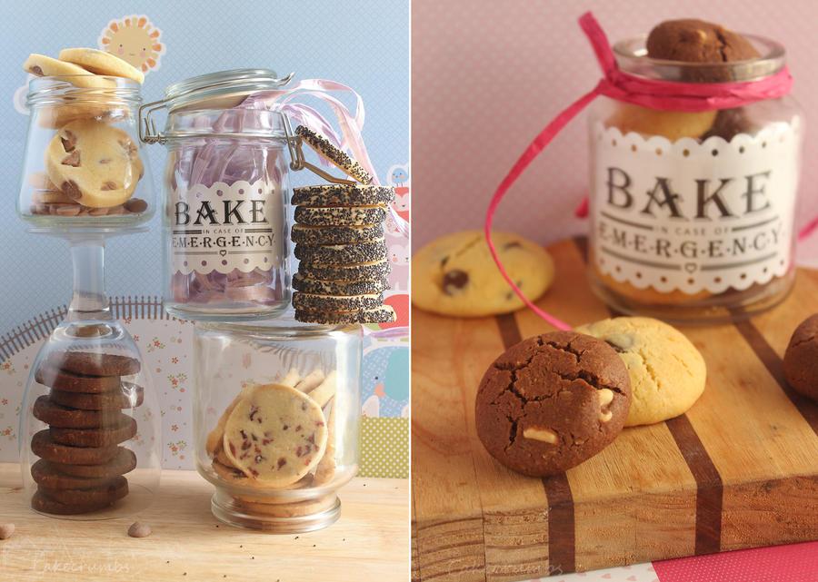 Emergency Cookies by cakecrumbs