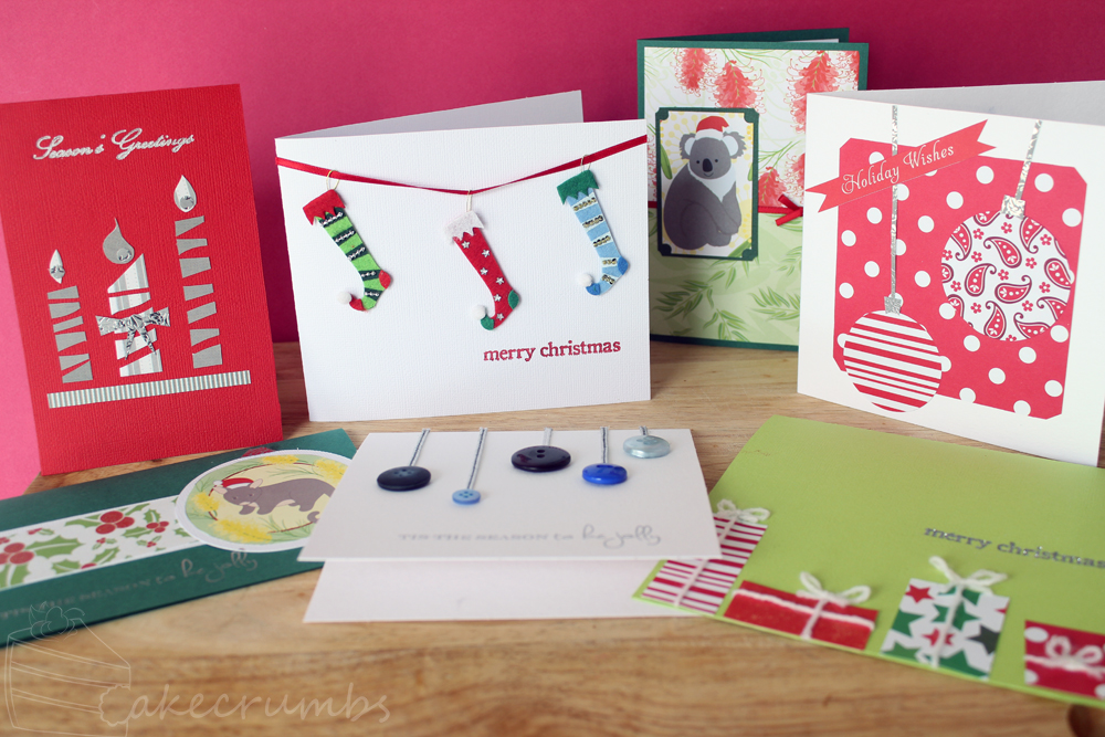Christmas Cards 2013 by cakecrumbs