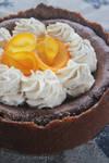 Choc Orange Baked Cheesecake