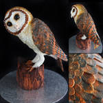 Tasmanian Masked Owl Cake