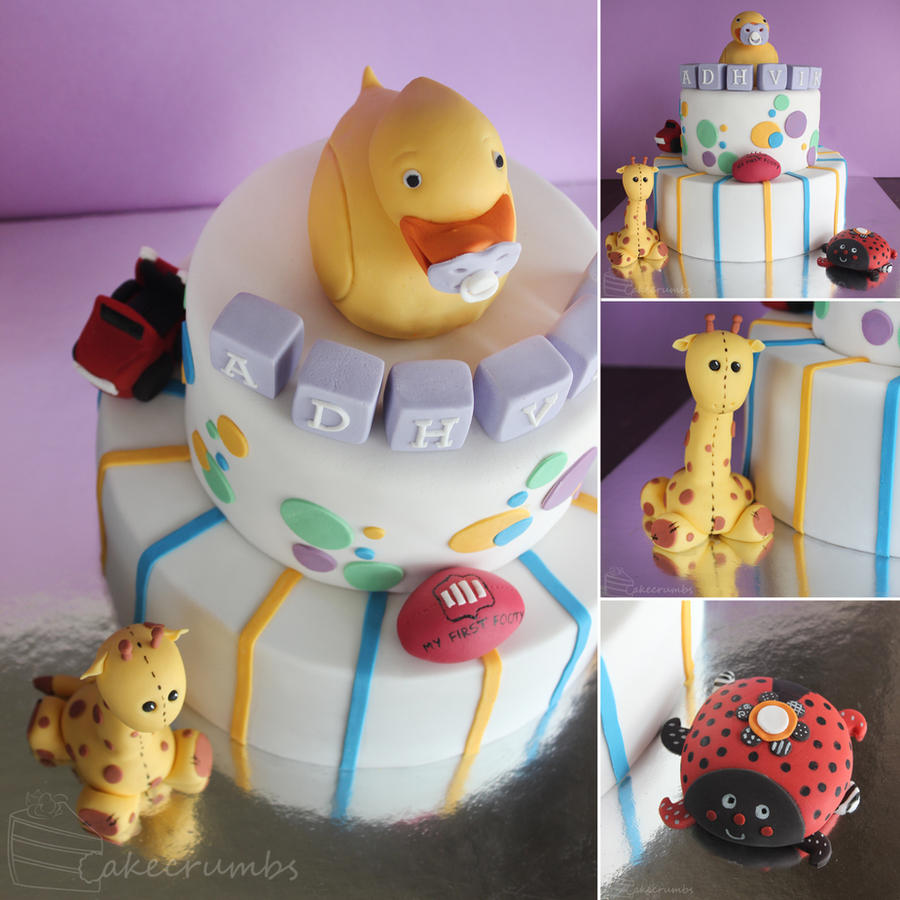 Children's Toy Birthday Cake by cakecrumbs