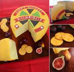 Swiss Wheel of Cheese Cake