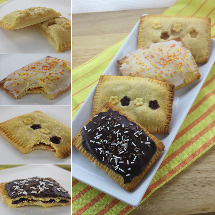 Home-made Pop Tarts by cakecrumbs
