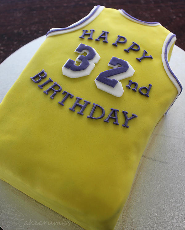 Cakecrumbs' Magic Johnson Birthday Cake by cakecrumbs