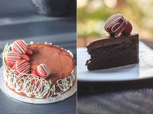 Rich Dark Chocolate Mudcake