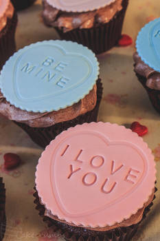 Sweet Hearts Cupcakes