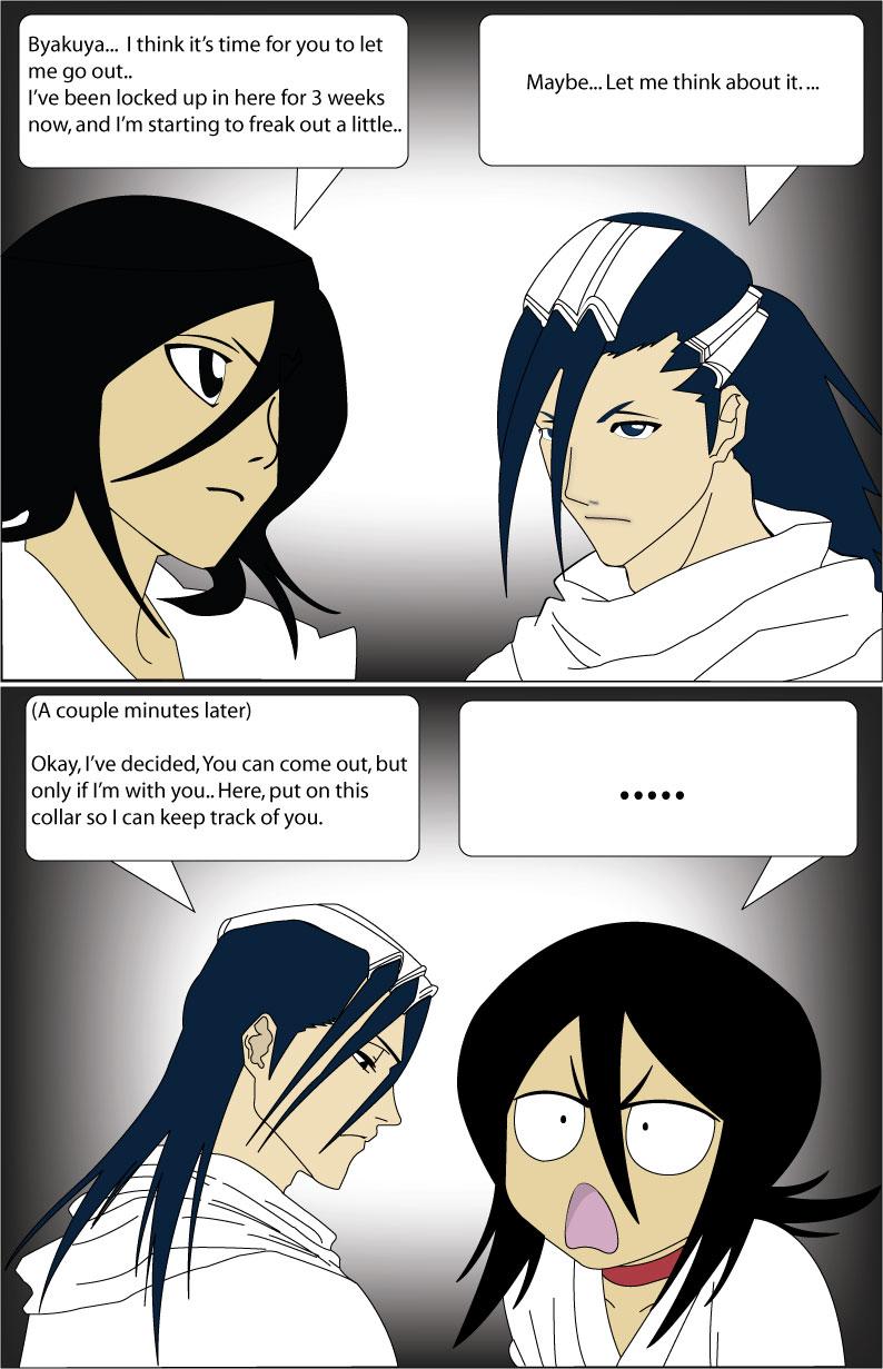 rukia and byakuya relationship test