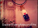 Cruella De Vil bottle charm