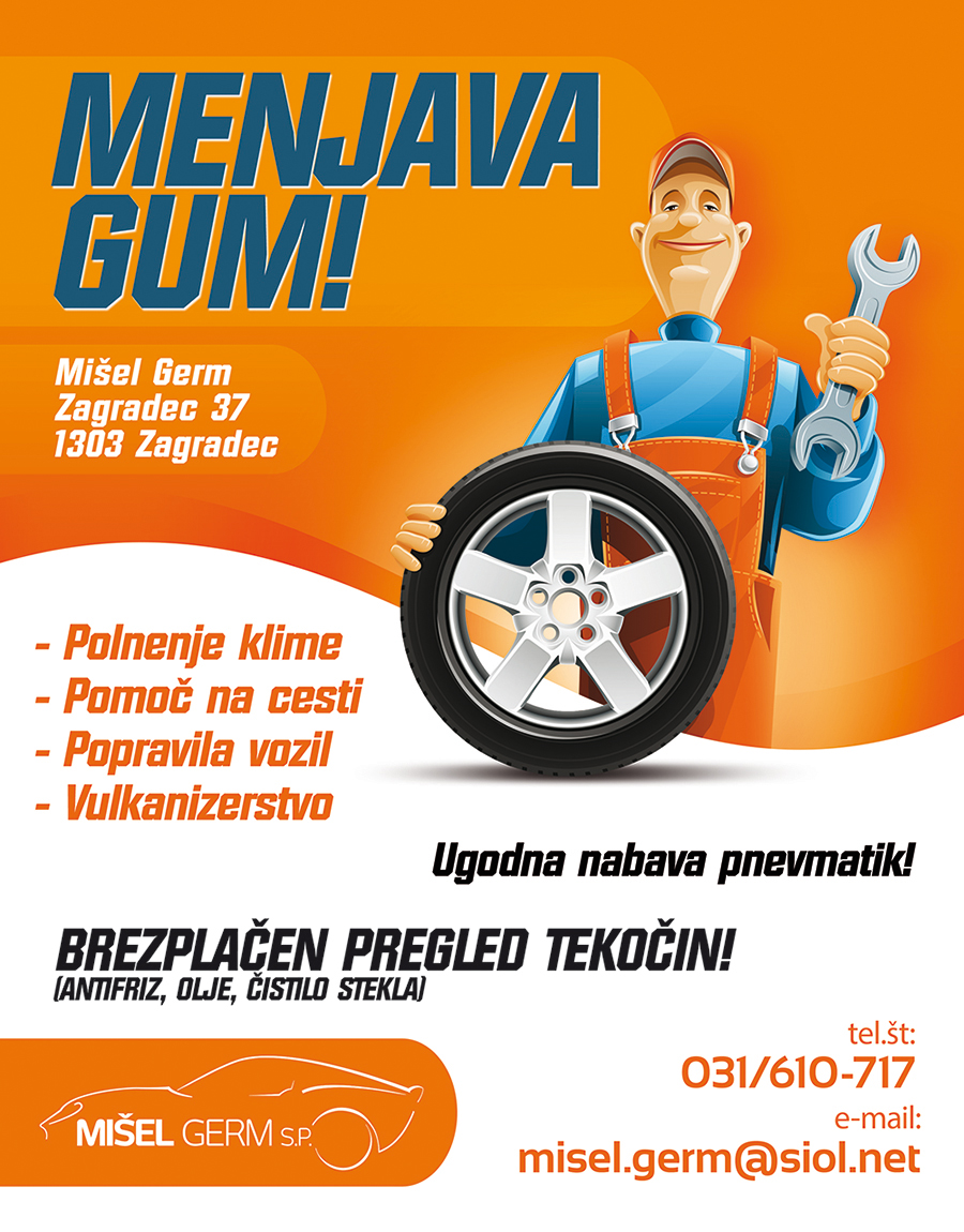 Auto Service Flyer - Misel Germ S.P. by Jodlar on DeviantArt