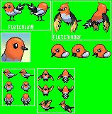 Fletchling and Fletchinder