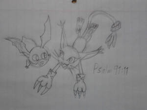 October 5 - Patamon and Tailmon (For theKawaiiOne)