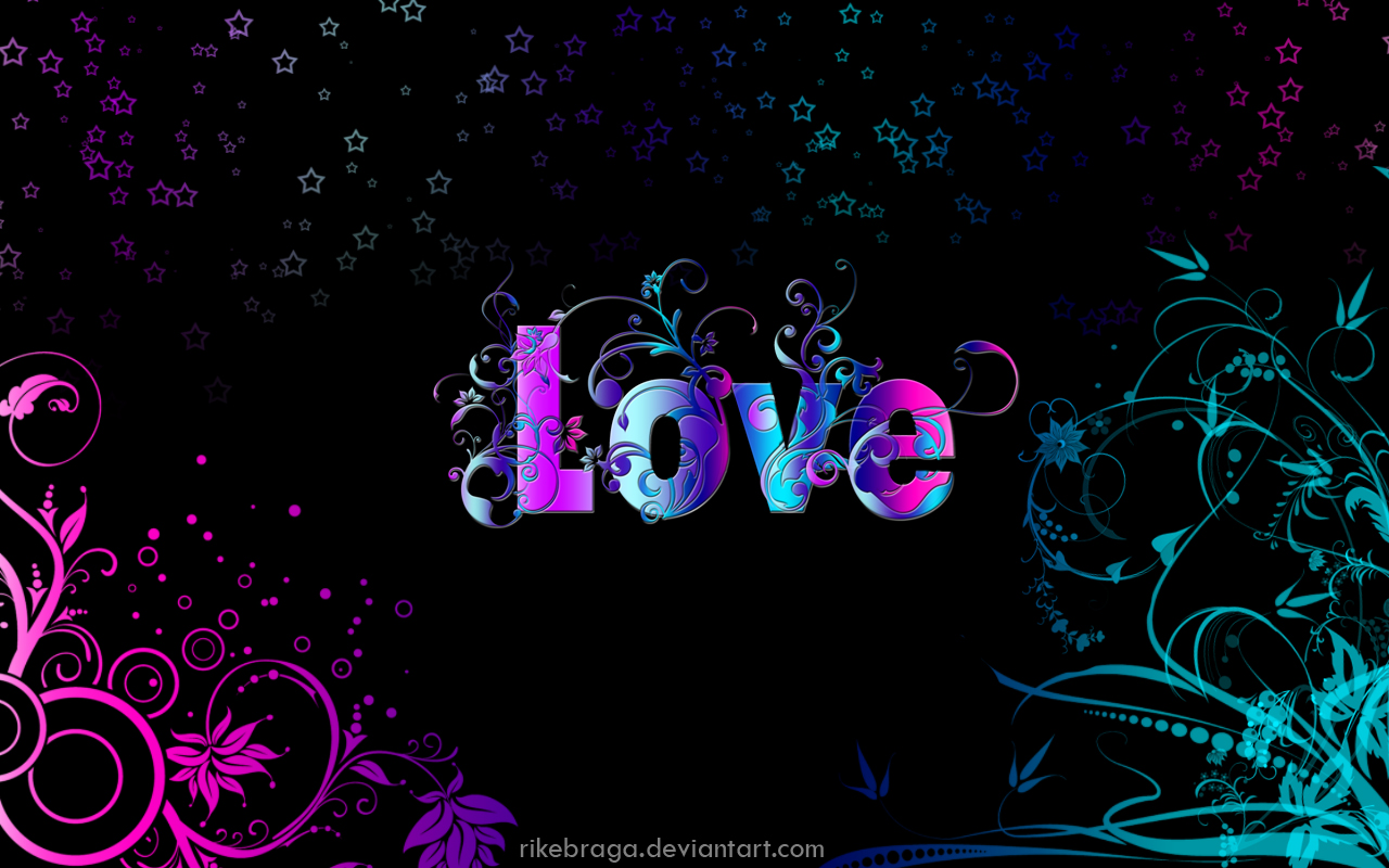Imagenes Con Frases De Amor En 3d: Love Wallpaper By Rikebraga On DeviantArt