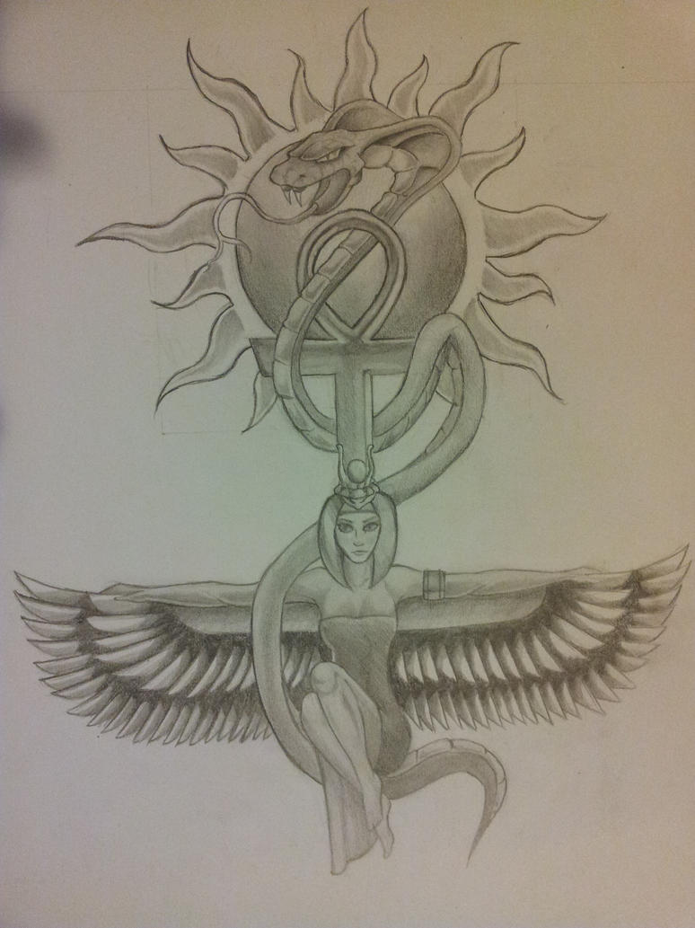 Isis Goddess Tattoo