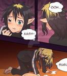 SAO - Kirito into Leafa + IRL Suguha TG