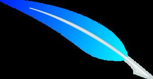 Vector: Skyblue Feather